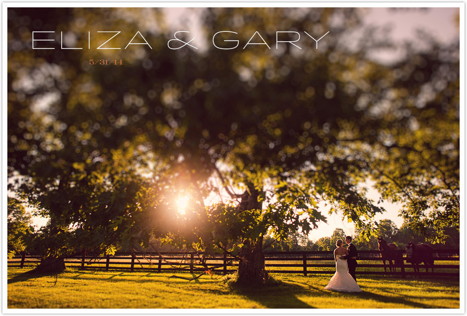ELIZA & GARY WEDDING