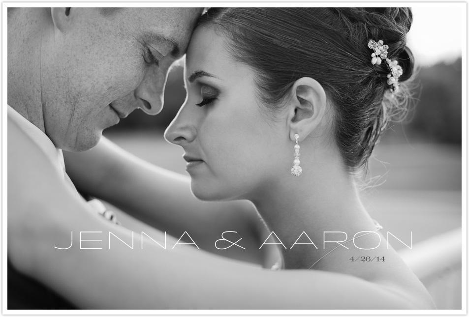 JENNA & AARON WEDDING